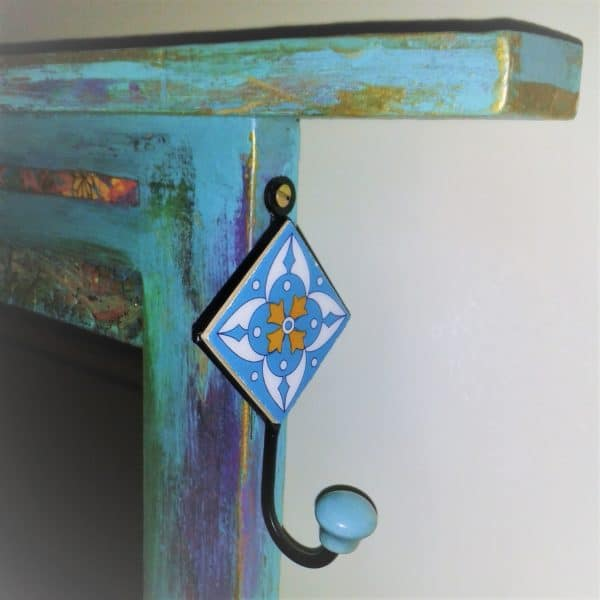Upcycled Door Becomes This Mirrored Coat Rack Do-It-Yourself Ideas Wood & Organic