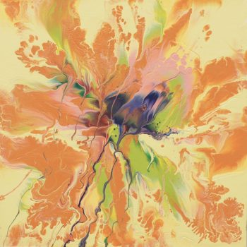Video Tutorial: Leftover House Paint Abstract Art