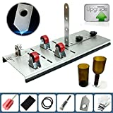 HQ-Site Glass Bottle Cutter kit, Adjust full sized Bottle Cutter DIY Cutting Machine Wine Bottles and Beer Bottles Cutting Tool -DIY YOU OWN BOTTLE SYTLE AND YOUR OWN SIZES (Upgrade Version)