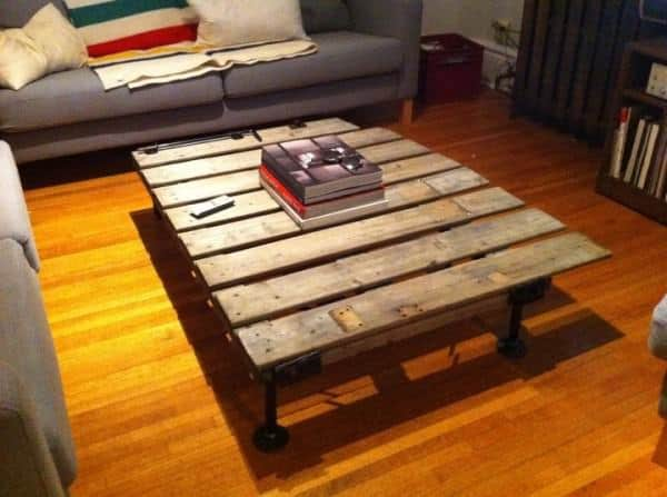 Fence Coffee Table Do-It-Yourself Ideas Recycled Furniture Wood & Organic