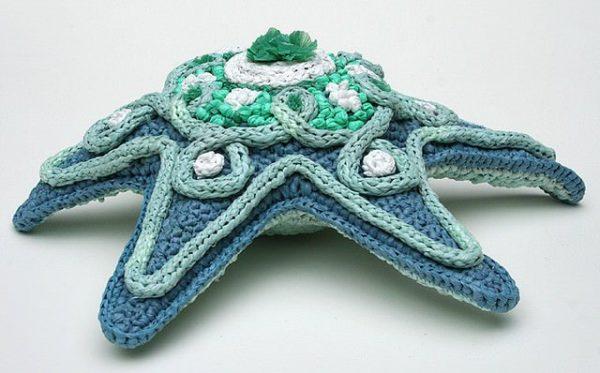 Cephalopod, Polypod and Medusa Nematocysta Recycled Plastic