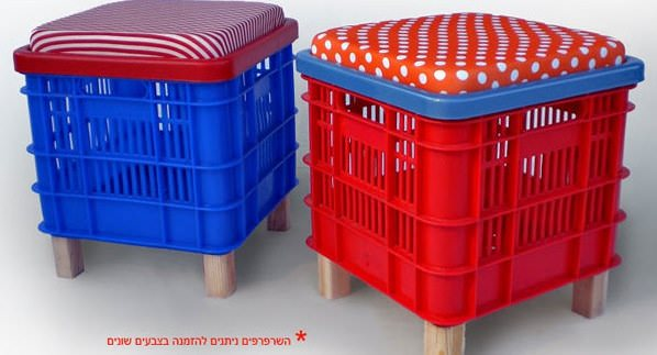 Stool Crates Recycled Furniture