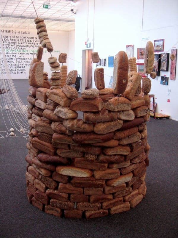 The Bread Castle Recycled Art