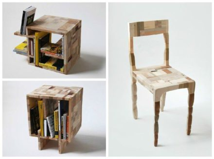 Recycled Wood by Amy Hunting