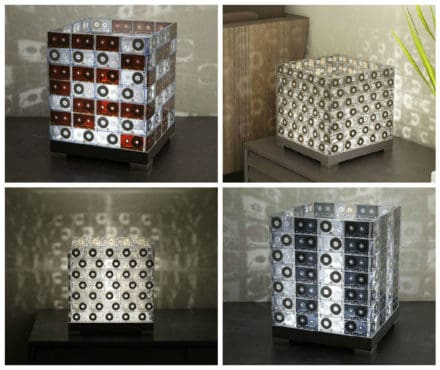 Diy: Upcycled Tape Lamp