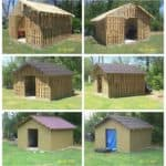 Shed Made From Reclaimed Pallets