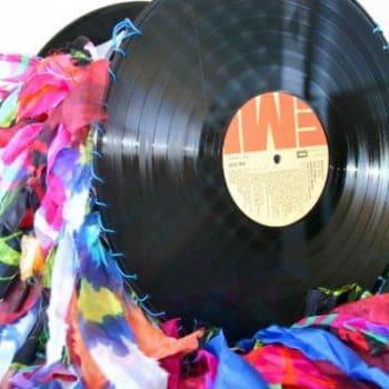 Vinyl Record Handbags