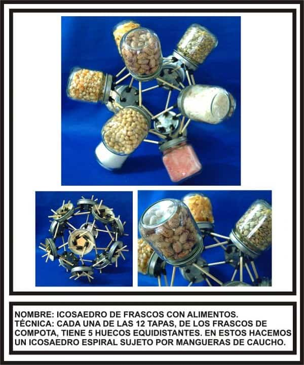 Polyhedra Made with Waste Recycled Art