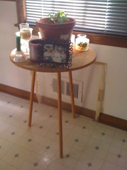 Cork Board Table