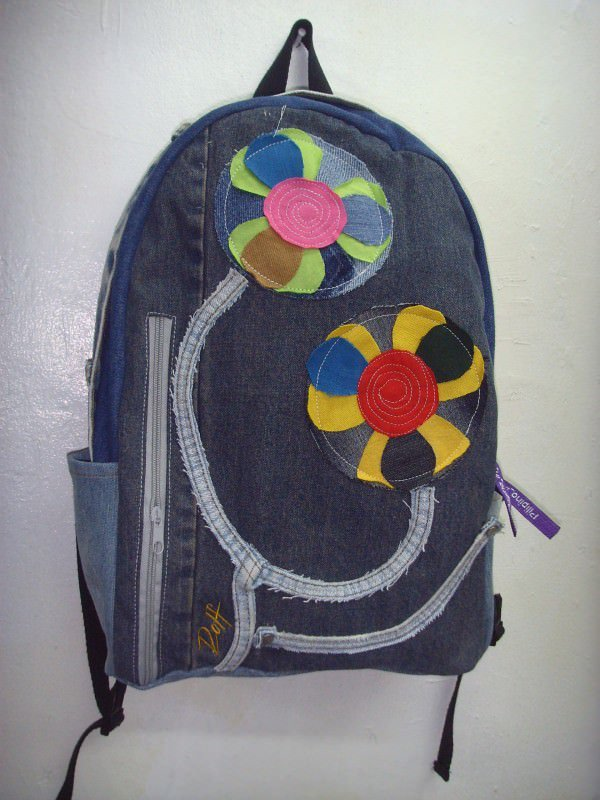 Old Jeans To Backpacks