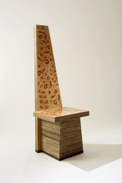 Cardboard Sculptures Recycled Cardboard