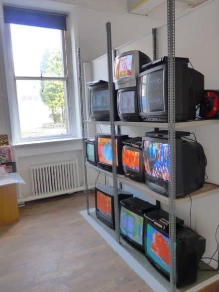 Old Tv Installation