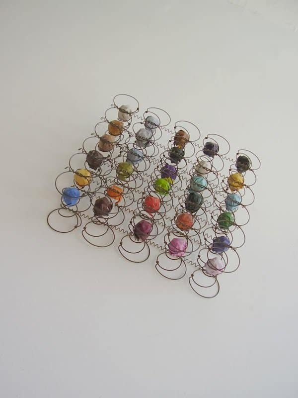 Upholstery Springs Sculpture Recycled Art