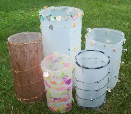 Fused Plastic Luminaries