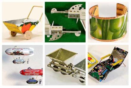 25 Unusual Projects To Make Out Of Repurposed Tin Cans