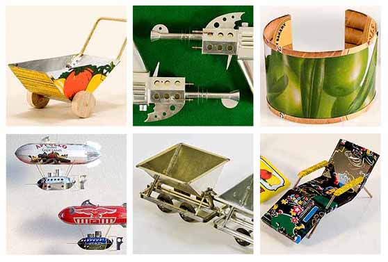 25 Unusual Projects To Make Out Of Repurposed Tin Cans Do-It-Yourself Ideas