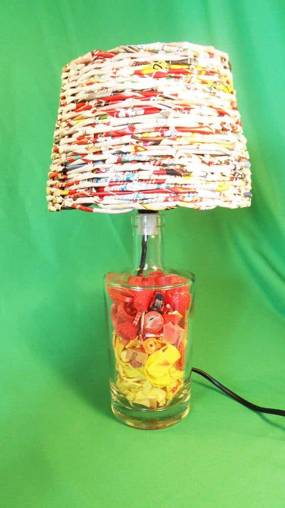 Recycled Plastic Beach Into Desk Lamps Lamps & Lights Recycled Plastic