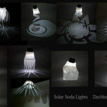 Solar Soda Lights