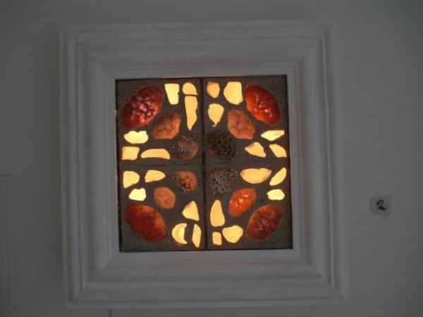 Sea Glass Art Light