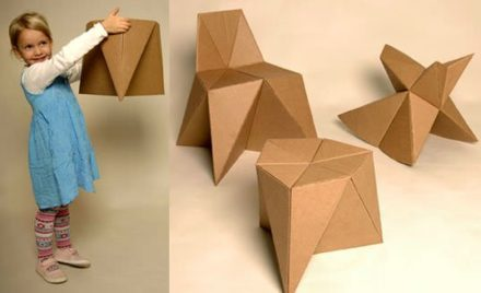 Diy, Cardboard Furniture for Kids
