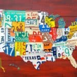 License Plate Art & Maps