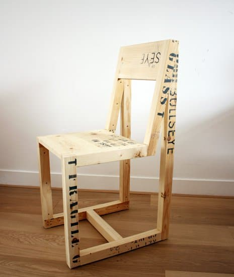 Wooden Export Crates Furniture Recycled Furniture Wood & Organic