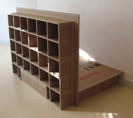 A Carboard Bed (Futon Spirit)