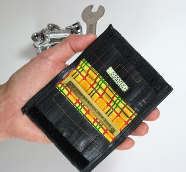 Bicycle Inner Tube Wallet Accessories Recycled Rubber