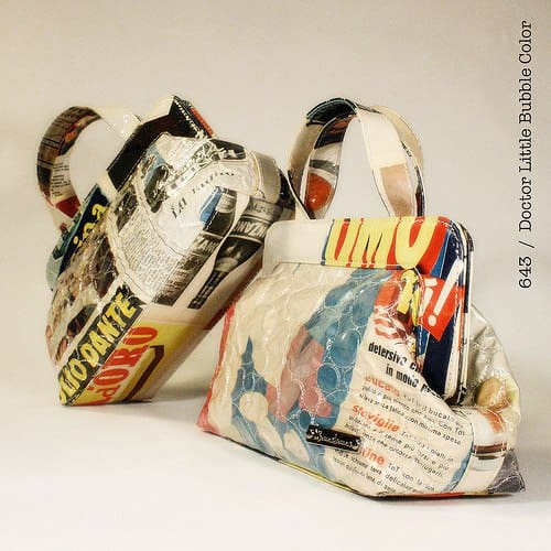 Momaboma Bags Accessories Recycling Paper & Books