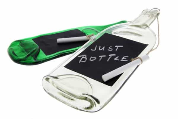 notiz-flasche