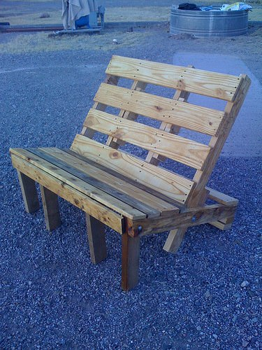 Pallet Chair Recycled Furniture Recycled Pallets Wood & Organic