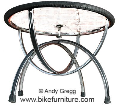 Bike Furniture Recycled Furniture Upcycled Bicycle Parts