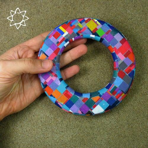 Eco Mosaic by Dorota Kos Recycled Plastic