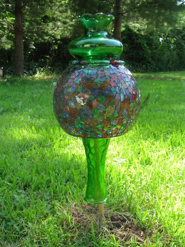 Garden Art Recycled Art