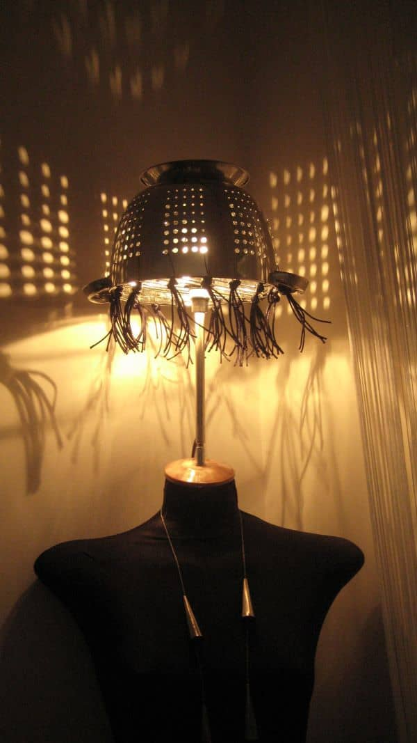 Mannequin & Pasta Strainer Floor Lamp Lamps & Lights