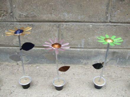 Nespresso Caps Upcycled Into Flowers
