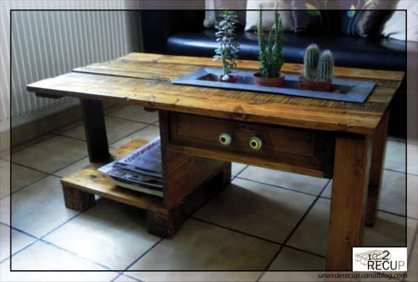 These Great Pallet Furniture Ideas Are So Pallet Perfect! Recycled Furniture Recycled Pallets
