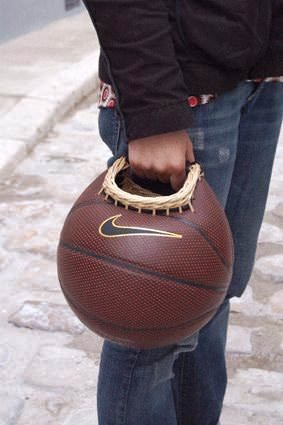 What to Do with an Old Basket Ball ? Accessories
