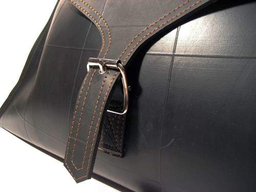 Inner Tube Briefcase Accessories Recycled Rubber