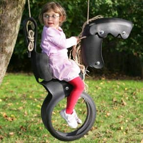 Tyre Horse Swing Recycled Rubber