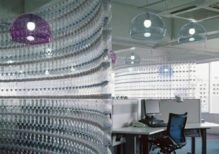 Water Bottle Wall