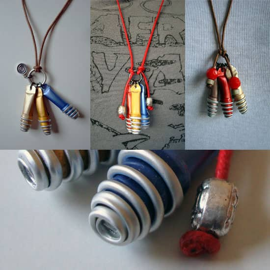 We Recycle George ! Do-It-Yourself Ideas Upcycled Jewelry Ideas