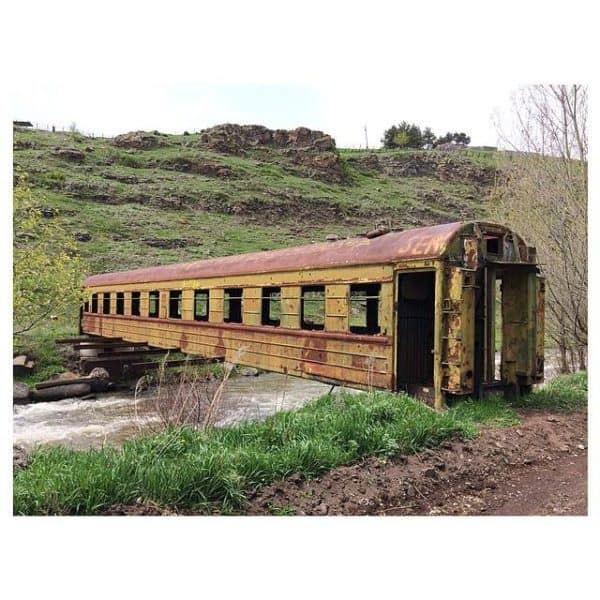 Old Train Wagon Bridge Home Improvement Mechanic & Friends