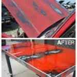 Recycled Car Hood Into Table