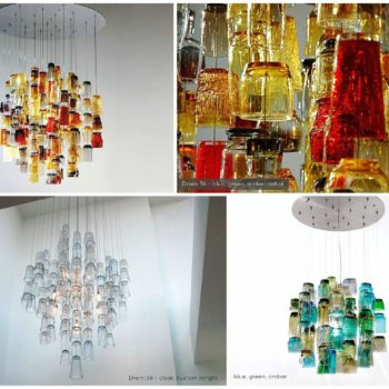 Dram Glasses Chandeliers
