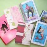 Notepad with Playing Card
