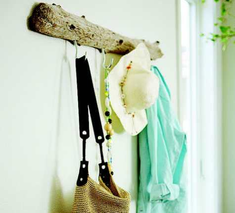 Diy: Driftwood Coat Rack Do-It-Yourself Ideas Wood & Organic