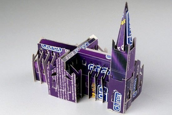 Durex Church Recycled Cardboard Recycled Packaging