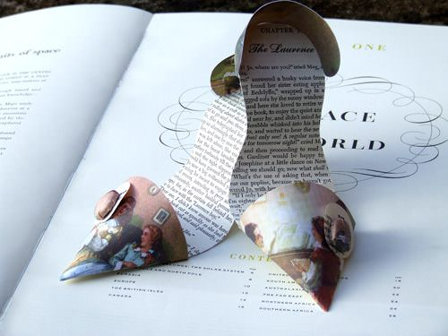 Paper Shoes Accessories Recycling Paper & Books
