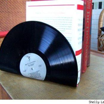 DIY: LP bookends